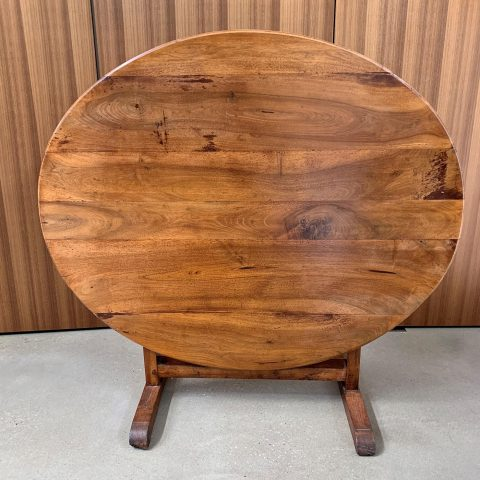 French Fruitwood Wine Tasting Table