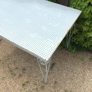 Vintage White Outdoor Table