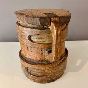 Antique Scandinavian Measuring Jug