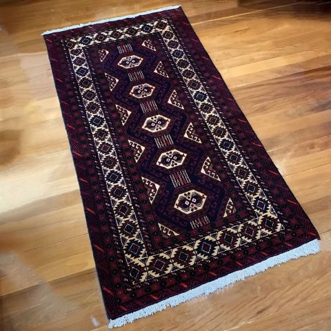 Fine Tribal Persian Turkoman Rug
