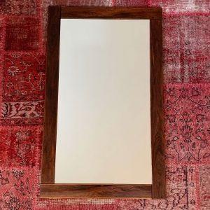 Mid Century Danish Rosewood Mirror