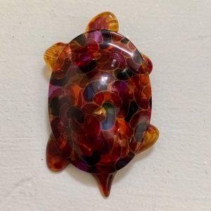 French Lea Stein Tortoise Brooch