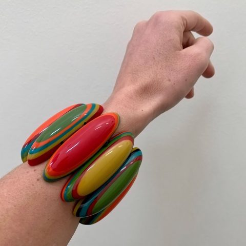 French Vintage Colourful Bracelet
