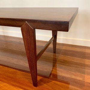 Mid Century Danish Rosewood Coffee Table